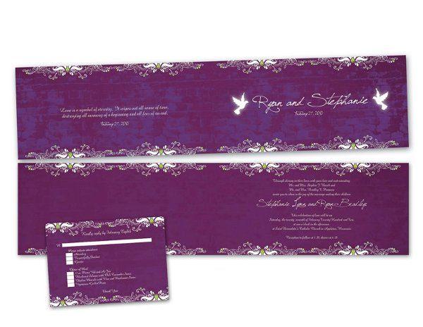 Tmx 1264734063672 RyanandStephanie Saint Paul wedding invitation