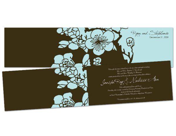 Tmx 1264734088969 Floralinvite Saint Paul wedding invitation