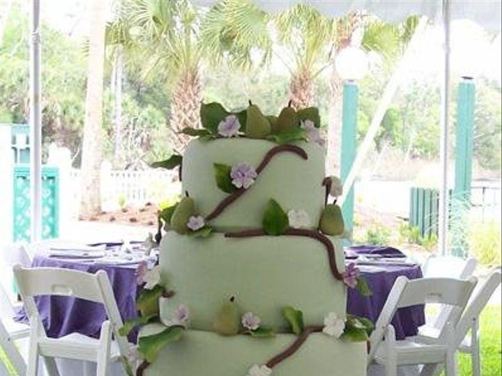 Tmx 1251896918564 Pear Gainesville wedding cake