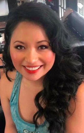 Airbrush makeup on this gorgeous gal.