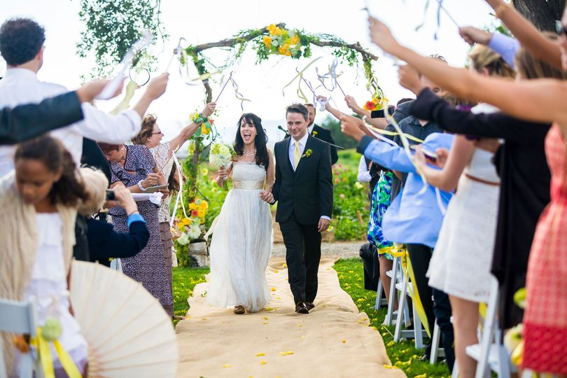 red daisy farm wedding pictures