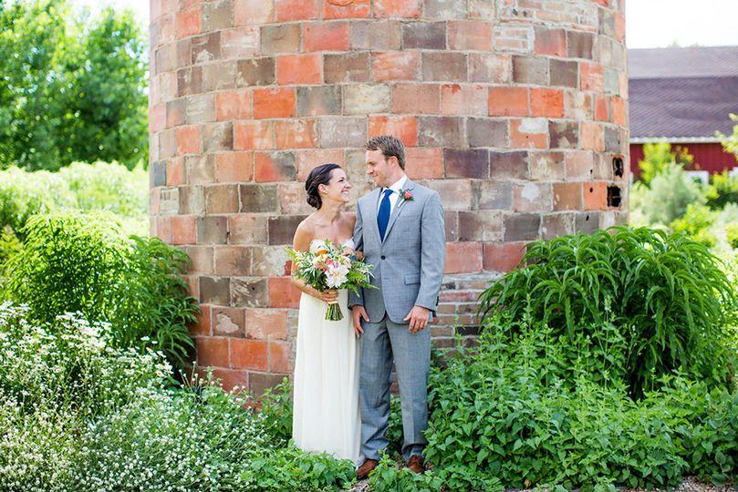 botanic gardens at chatfield wedding