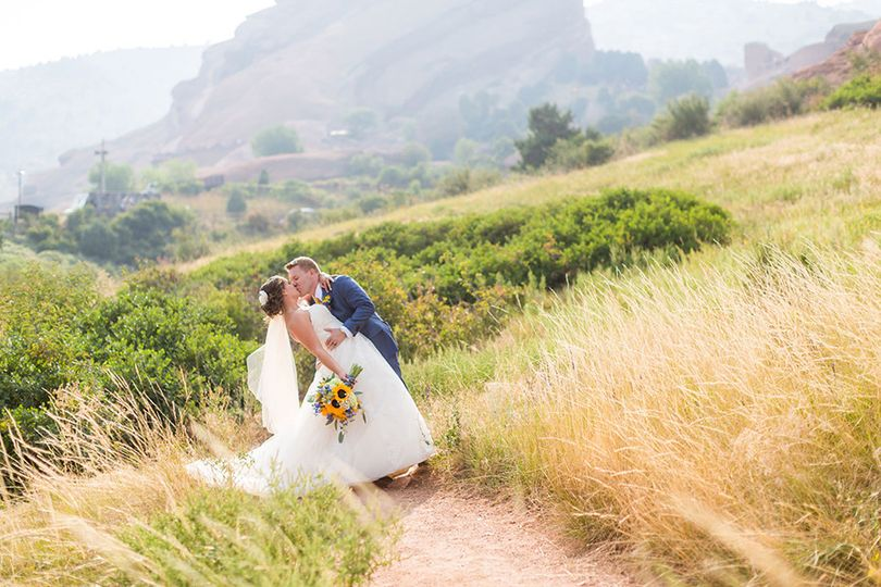 red rock wedding pictures