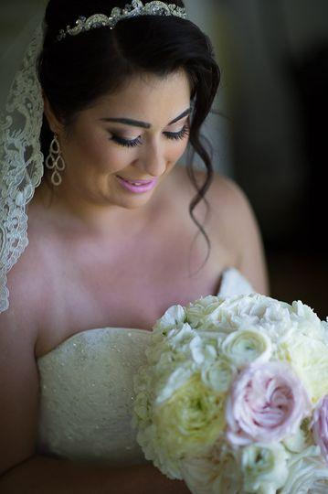 The wedding look