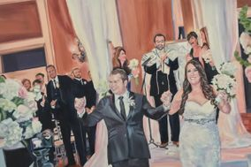 Event Painting By Nancy