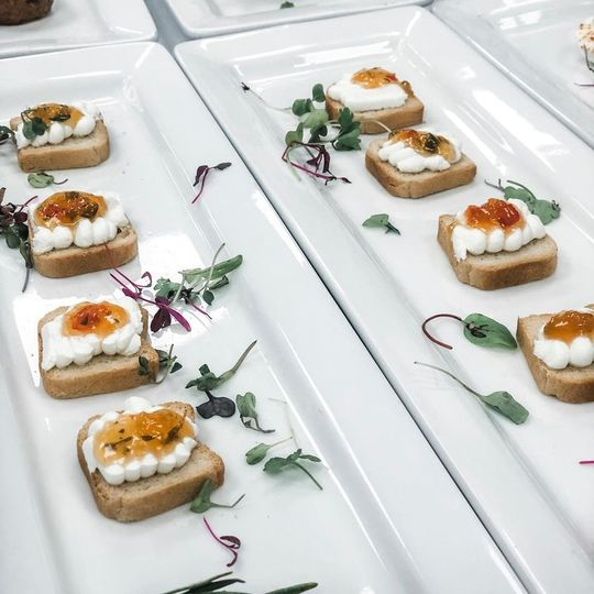 Texas Goat Cheese Toasts
