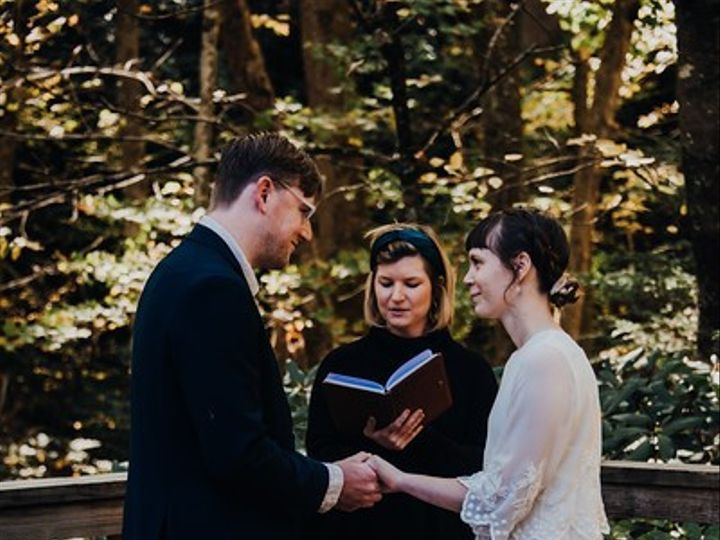 Tmx Amanda And Patrick2 51 1050745 158439626986532 Asheville, NC wedding officiant