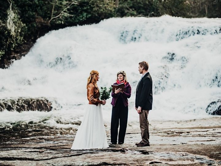 Tmx Kendall And Ryan7 51 1050745 158439640473634 Asheville, NC wedding officiant
