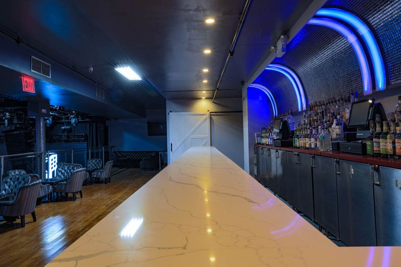 Mezzanine east bar