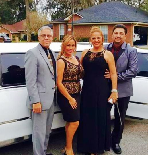 By the limo