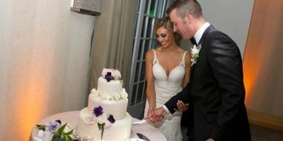 Cutting of cake