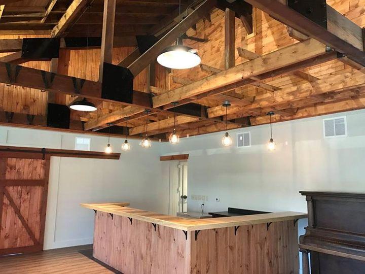 Wooden beamed ceilings