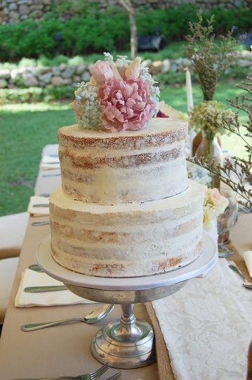 Naked Cake - A Sensation
