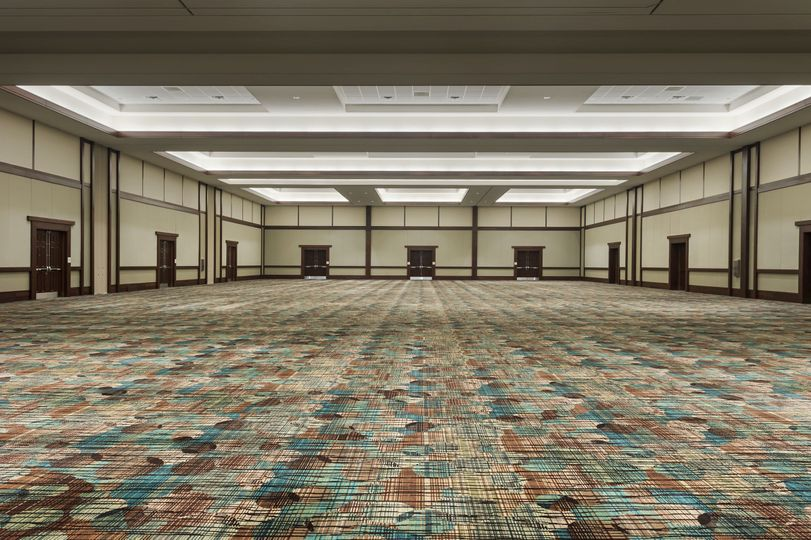 Modern ballrooms and meeting rooms