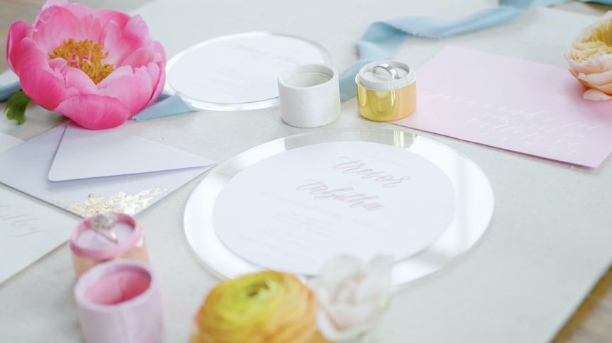 Wedding table placecard