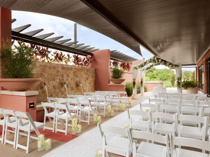 Tmx 1511291857298 Cypress Patio Wedding Ceremony 1 Kissimmee, FL wedding venue