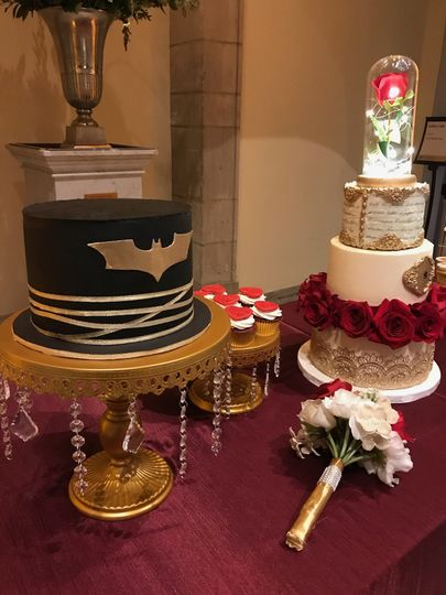 Wedding and Groom's Cake