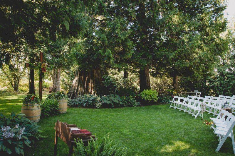 Ceremony in the West Garden