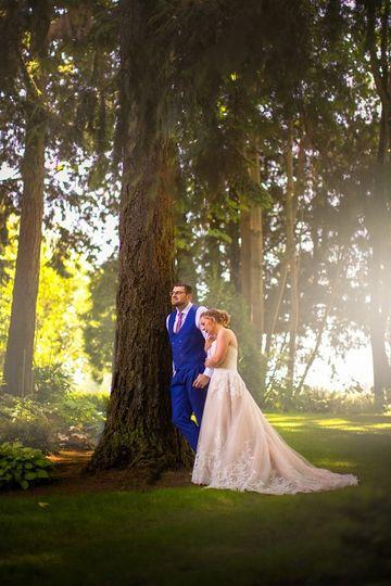 Wedding in the West Garden