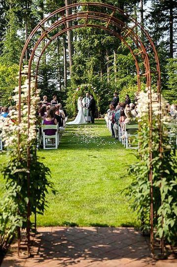 Ceremony in the East Garden