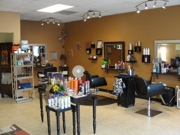 Make up and Up Do area