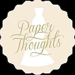4235fc16ad36ac44 Paper Thoughts Logo