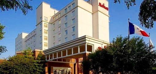 West Des Moines Marriott (Hotel Front)