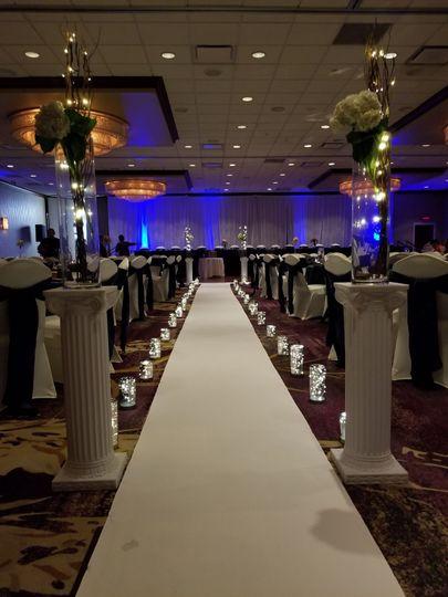 Ceremony in Grand Ballroom