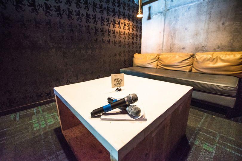 Private Karaoke Rooms