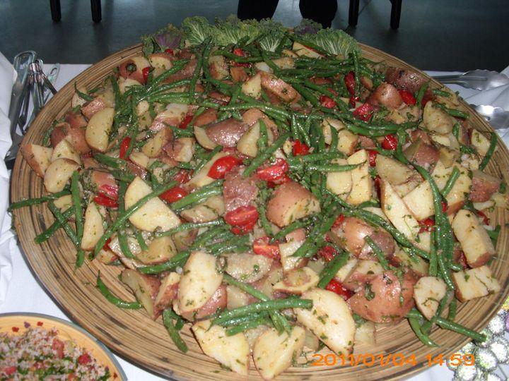 Potato & Green Been Salad