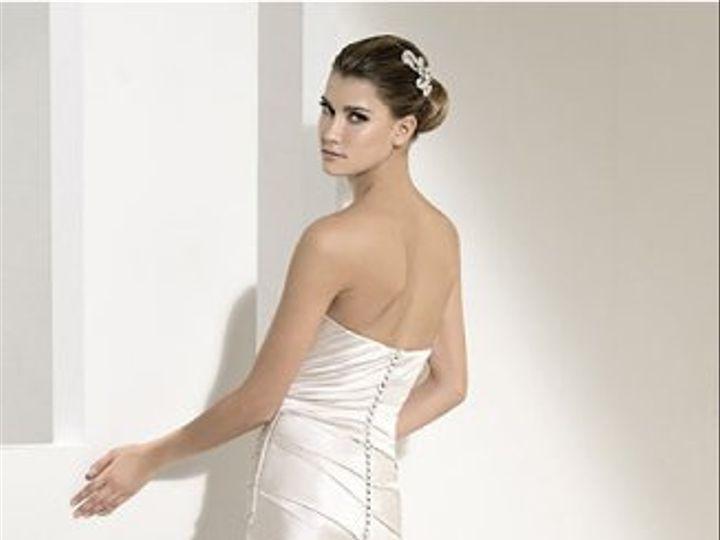 Tmx 1303179093462 WhiteOne411back Niantic, CT wedding dress
