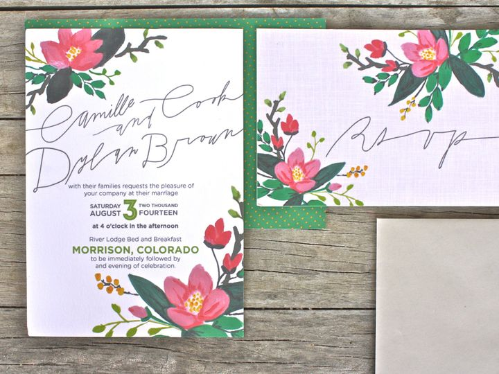 Tmx 1381888656398 Img1387 Denver wedding invitation