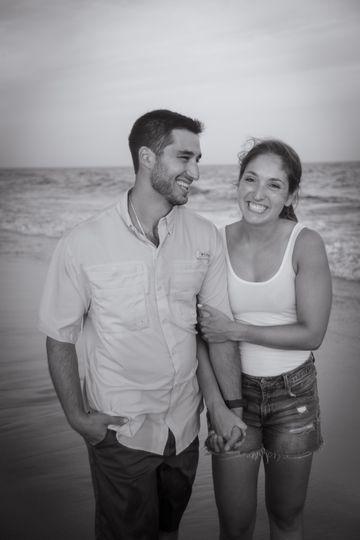 Jordan and Paul - Beach