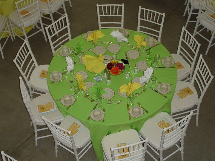 sit down dinner