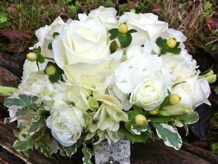 Tmx 1389718043863 Wrapping Of Bouquet For Brides Maids Ivory Rose Newport Beach wedding florist