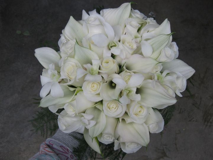 Tmx 1514989722446 All White Bouquet Newport Beach wedding florist