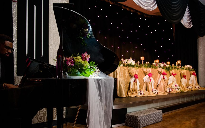 800x800 1497289484806 wedding   piano and head table gold
