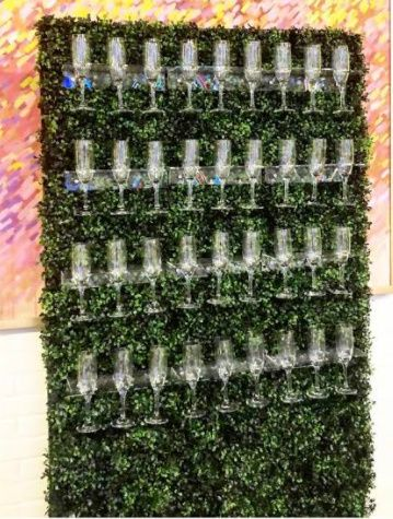 Champagne Walls