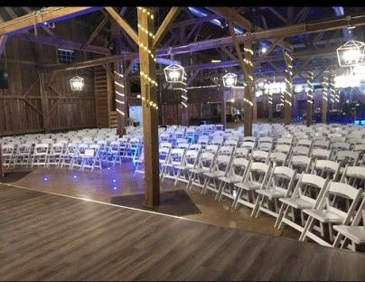 Ceremony set up 1