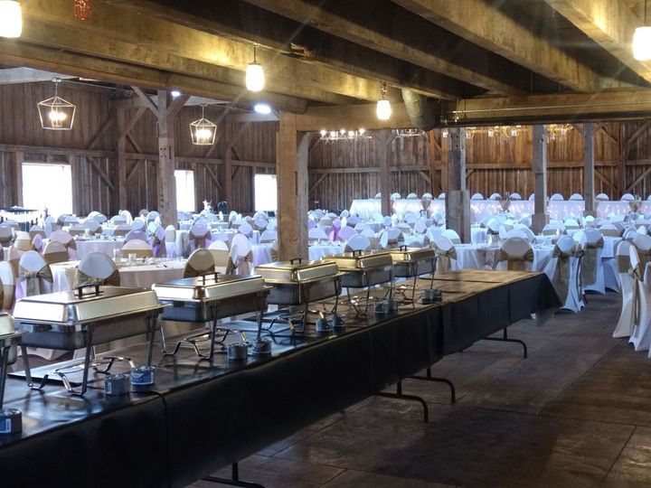 Catering set up 1