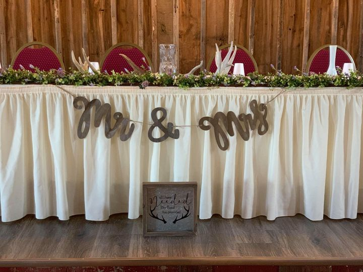 Tmx Wedding Head Table White 51 1002845 1564164545 Burnett, WI wedding venue