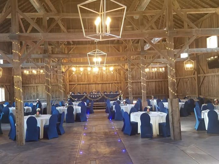 Tmx Wedding Set Up Navy Blue 51 1002845 157902675794125 Burnett, WI wedding venue
