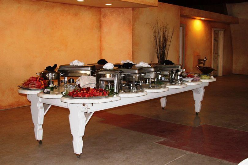 Tuscan buffet
