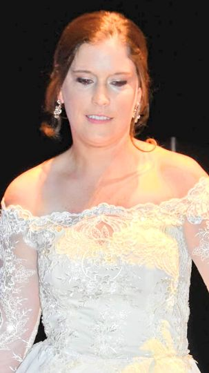 Fashion show bride