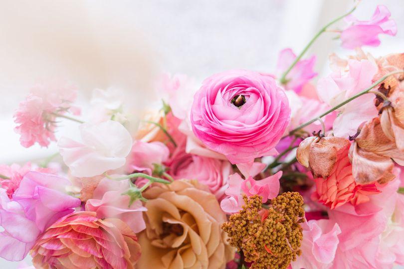 A vibrant floral arrangement