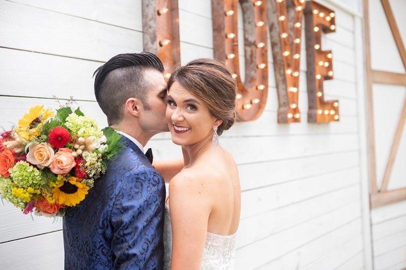 Mr & Mrs. Love Sign