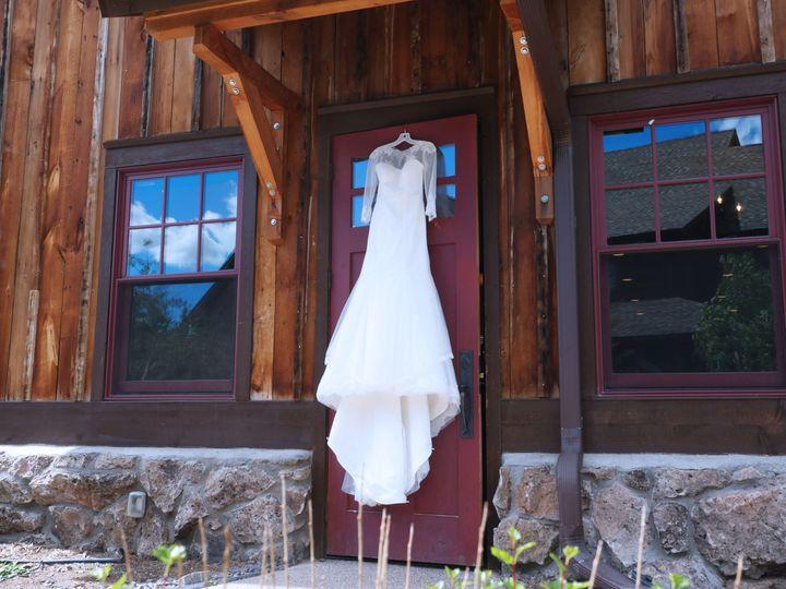 dress on barn