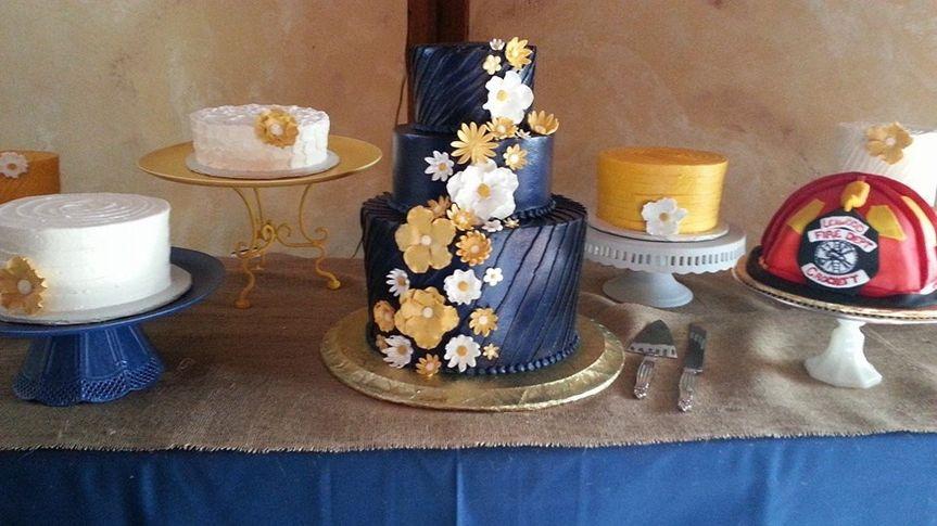 Cake Art Mo : Sweet Arts Creations - Wedding Cake - Gardner, KS ...