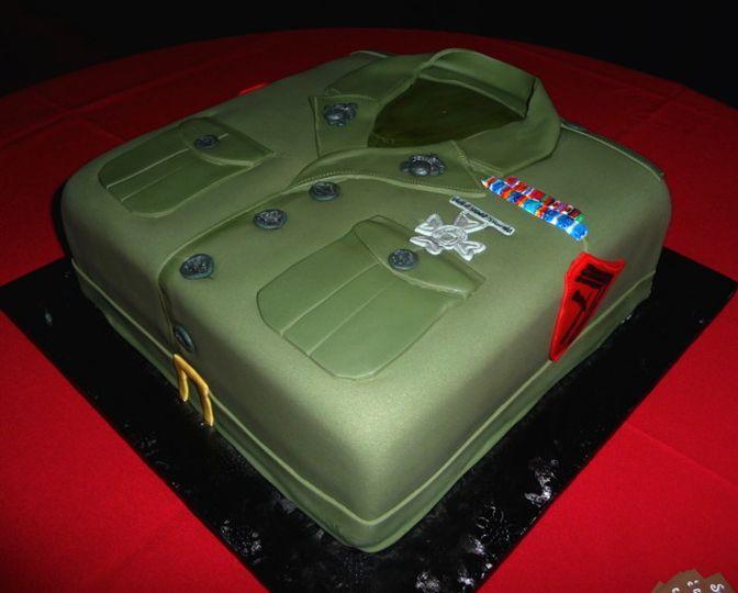 cakes marine corp grooms sid