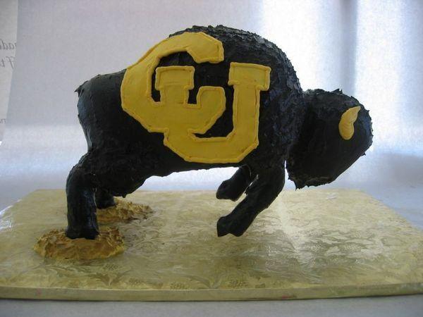 3D CU Ralphie groom's cake